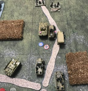 German Advances after Combat
